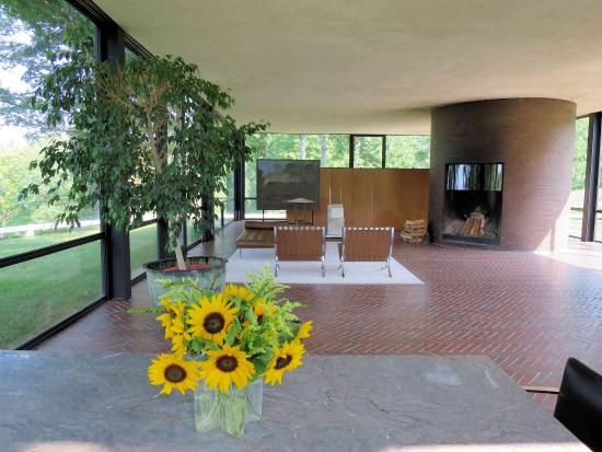 The Glass House Dining And Living Room Picture Of The Philip