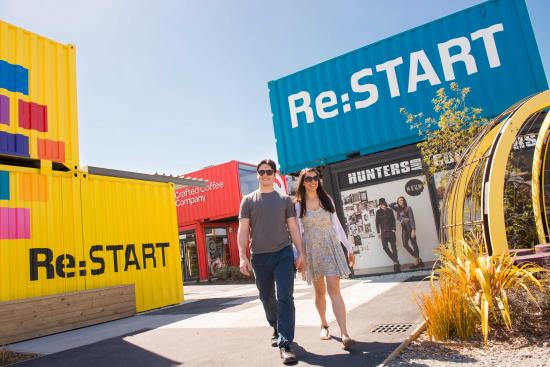 Christchurch, New Zealand: Re:START Mall