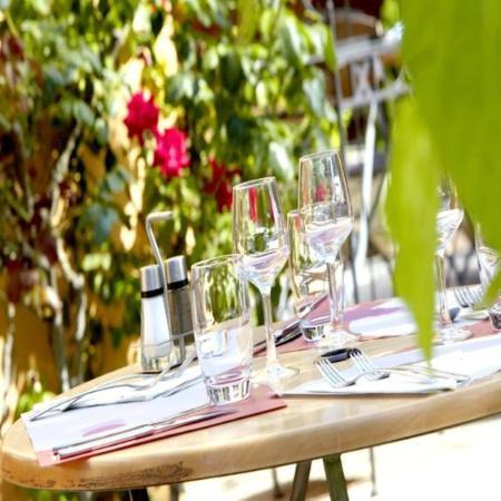Campanile Saumur : Terrace