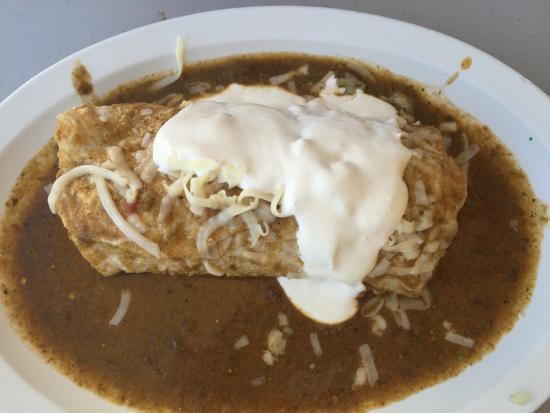 El Taco De Mexico: Chile Relleno burrito smothered