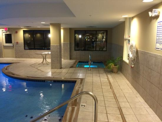 Hampton Inn Dandridge: hot tub by the indoor pool