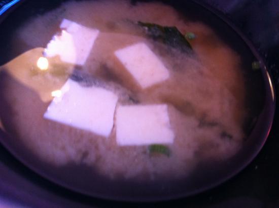 Geisha: Miso soup