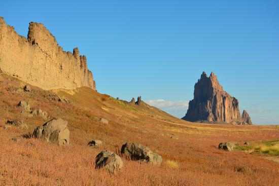 Shiprock from the south