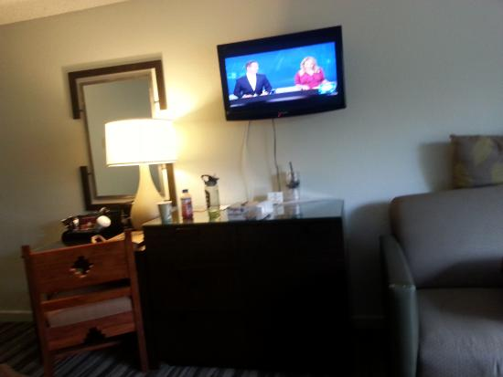 TV and furniture