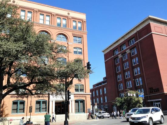 Texas school book depository the museum is on the first for 6th floor museum coupon