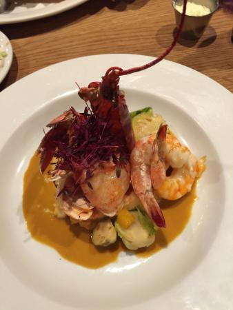 Coatesville, Пенсильвания: Lobster and 3 Shrimp