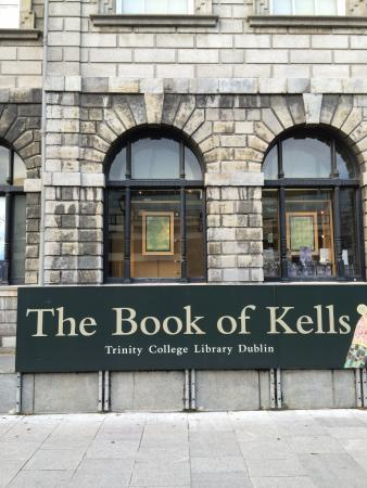 Trinity college dublin book kells tickets