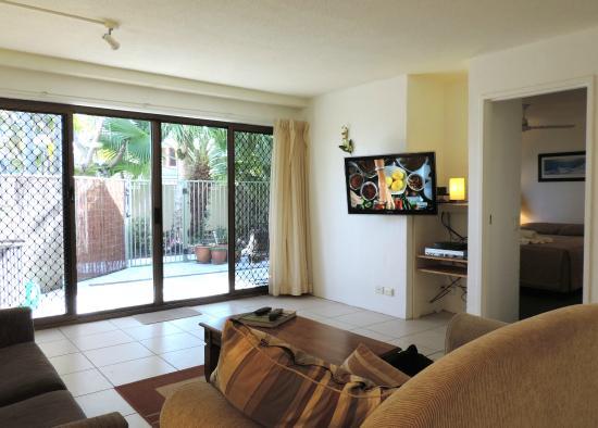 Cloud Nine Luxury Apartments: Apartment 2 Living Room