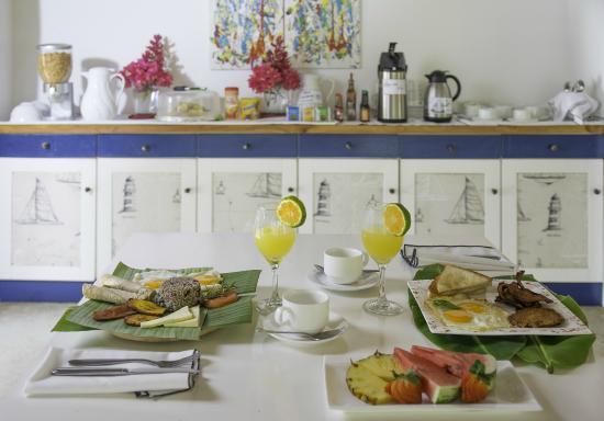 Seis Playas Hotel : Exquisit  breakfast