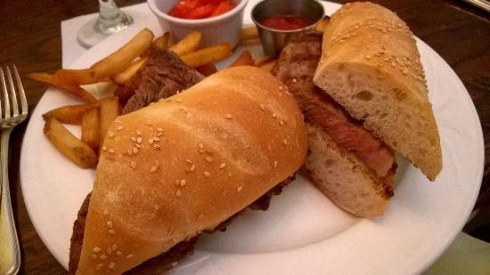 Berlin, NJ: Ribeye steak sandwich
