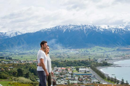 Canterbury Region, New Zealand: Look-out in Kaikoura