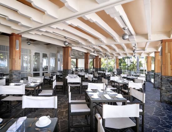 El San Juan Resort & Casino, A Hilton Hotel: Las Terrazas restaurant exterior. Shelby 01/08