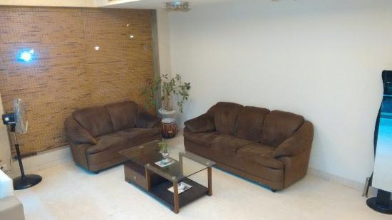 Reception area hotel Mangalam