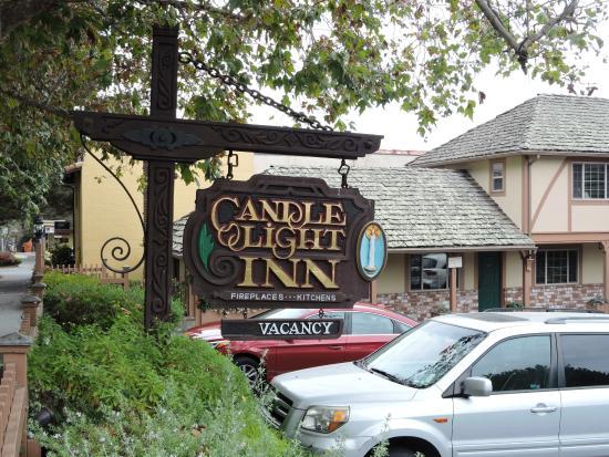 convenient parking picture of candle light inn carmel. Black Bedroom Furniture Sets. Home Design Ideas