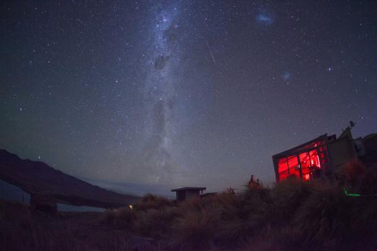 Canterbury Region, New Zealand: Mt John Observatory