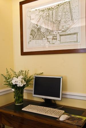 Hotel Ludovisi Palace: Internet Point
