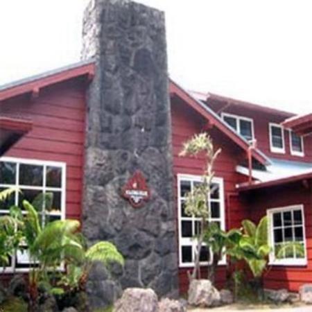 Volcano House: Exterior