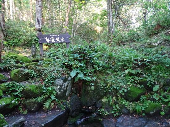 Rishirifuji-cho, Japón: 名水百選 甘露泉水
