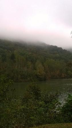 Jenny Wiley State Resort Park: the mountains were beautiful