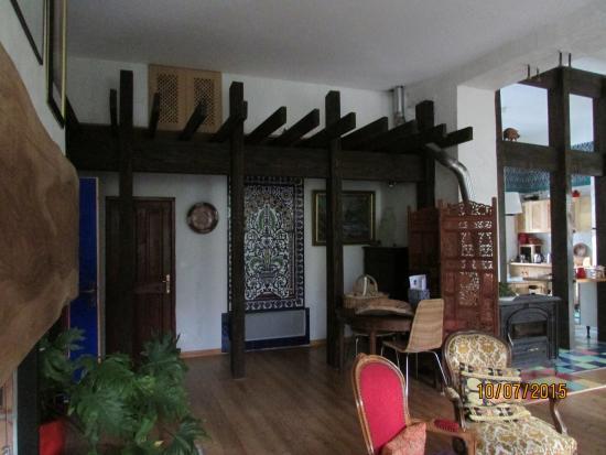 Chambres Frédéric Morin et Salomé: Inside Living Area