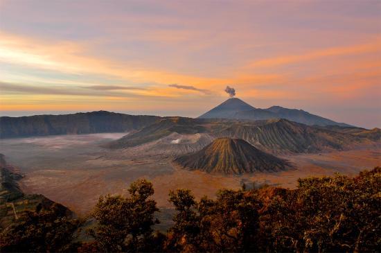 Indonesië: Sunrise from Pananjakan, Mt. Bromo, East Java, Wonderful Indonesia
