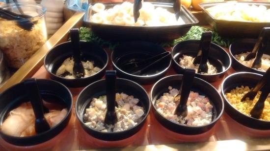 Enjoyable Salad Bar All You Can Eat At American Grill Plaza Semanggi Home Remodeling Inspirations Gresiscottssportslandcom