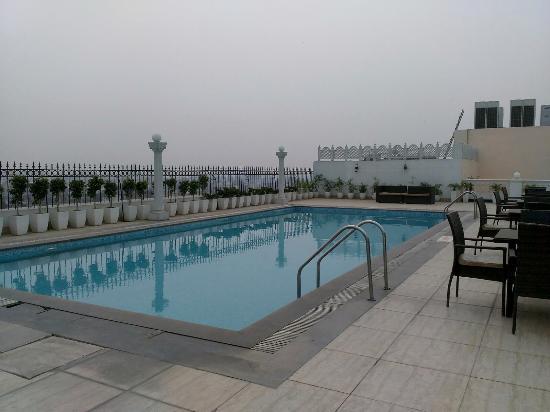 Swimming Pool On The Terrace Picture Of Ramada Amritsar Amritsar Tripadvisor