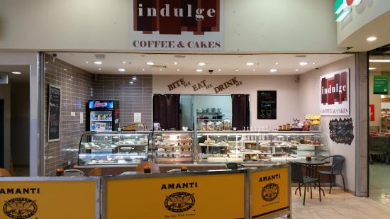Indulge coffee and cakes