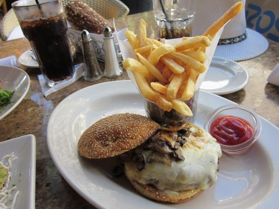 The Cheesecake Factory: Mushroom Burgers