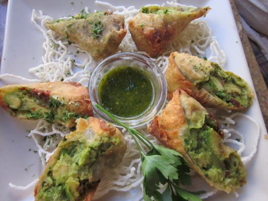 The Cheesecake Factory: Avocado Eggrolls