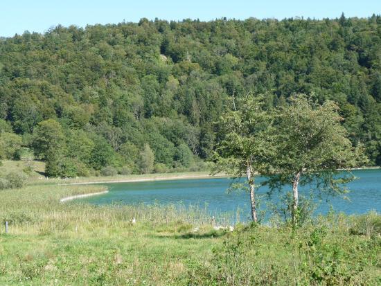Le Frasnois, França: vue sur le lac