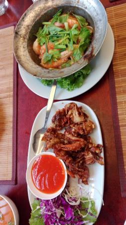 Mandawee Resort & Spa: อร่อย