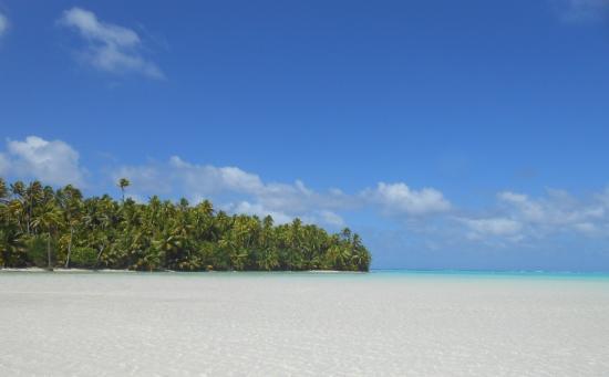 Islas de la Sociedad, Polinesia Francesa: Banc de sable