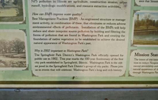 Washington Park Botanical Gardens: Washington Park