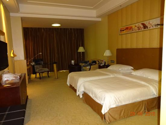 Lijingwan International Hotel Zimmergröße Mit Zwei Einzelbetten Im Dz