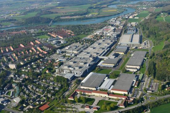 Flugaufnahme Bmw Group Werk Steyr