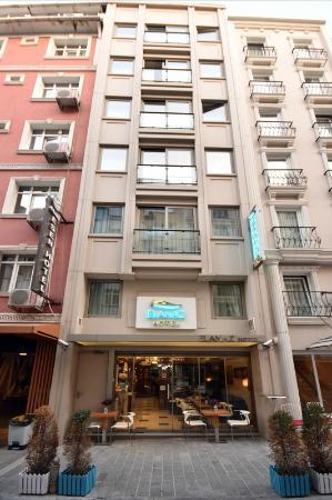 Elanaz Hotel Istanbul: Exterior
