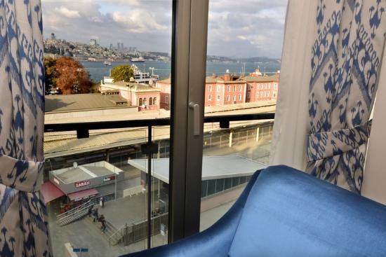 Elanaz Hotel Istanbul: Bosphorus View Room