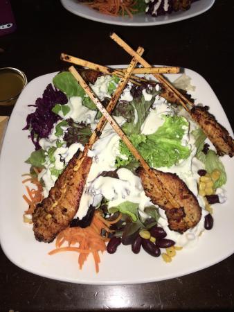 La Passione: Leckerer Salat mit perfekt zubereiteter Pute