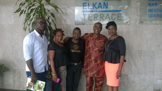 The Elkan Terrace: farewell time...