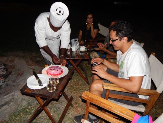 Tipilikwani Masai Mara Camp: birthday cake