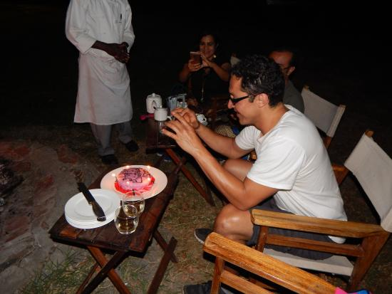 Tipilikwani Masai Mara Camp: Cake!