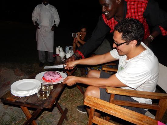 Tipilikwani Masai Mara Camp: More cake