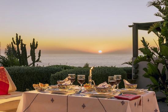 Aftas Trip : Diner avec coucher de soleil