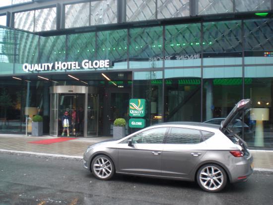 entrance of hotel globen bild fr n quality hotel globe stockholm tripadvisor. Black Bedroom Furniture Sets. Home Design Ideas