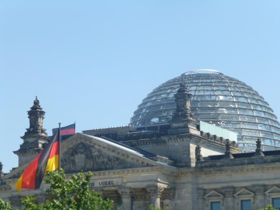 Berlin Kontouren: Reichstag, Berlin, Deutschland