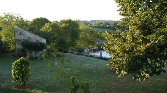 Le Manoir de Beauregard: View from our bedroom