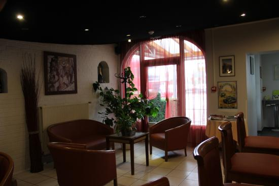 Avesnelles, France : salon acceuil