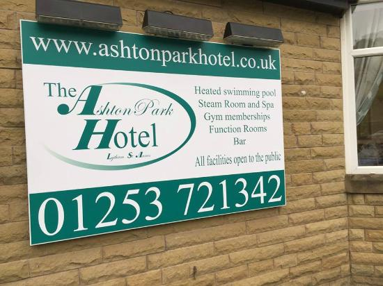 The Ashton Park Hotel: The New Hotel Sign