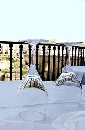 Albacara Restaurant: Excelentes vistas